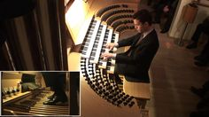 Nathan Laube is playing the Hauptwerk organ of Joerg Glebe in a home recital using the sample set of the Cavaillé-Coll organ in Caen/F. Organ Music, Heart Hands, Recital, Concerts, Musicians, Goth, Music