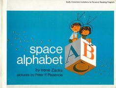 Space Alphabet, by Irene Zacks