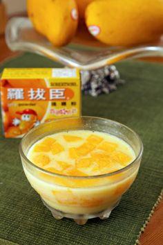 Hong Kong Style Mango Pudding