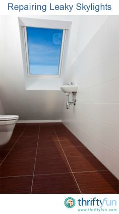 This guide is about repairing leaky skylights. It is wonderful to have daylight through the ceiling unless there are problems with the roof seal or flashing.
