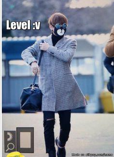 covering face, Level V