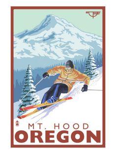 Timberline Lodge - Ski Mt. Hood, Oregon