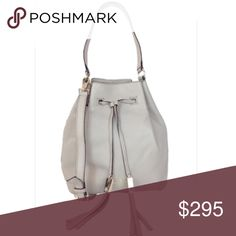 """Kate Spade Grey Street Delaina Brand new with tags. Comes with dust bag. Measurements are: 10.5h x 9.5""""W x 5.5"""" Deep. Handle is 8.5"""" and has a 20"""" adjustable strap. Color is light grey. Pictures of actual bag will be posted soon. Do not bundle this item. Offers welcomed. kate spade Bags Crossbody Bags"""