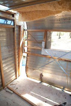 renovate camper | Camper Renovation – Plywood and Nail Guns