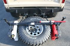 Built a bumper tire carrier - : and Off-Road Forum Jeep 4x4, Jeep Truck, Jeep Mods, Truck Mods, Nissan Pathfinder, Off Road Bumpers, Toyota Hilux, Tacoma Toyota, Bug Out Vehicle