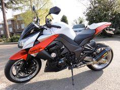 2010 Z1000 White Orange