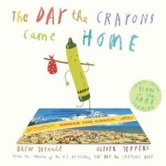 One day, Duncan is happily coloring with his crayons when a stack of postcards arrives in the mail from his former crayons, each of which has run away or been left behind, and all of which want to come home.