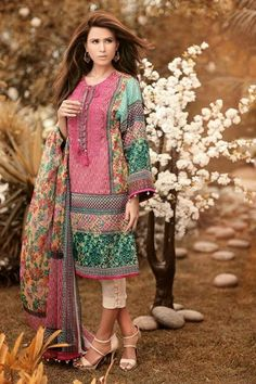 Ethnic Unstitch S  S Lawn Collection By Outfitters 2015-16  (7)