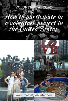 How to participate in a volunteer project in the United States