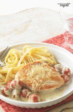 Poulet mijoté à la toscane #recette