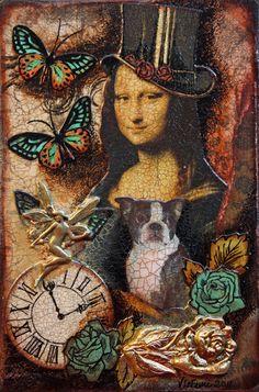 ... Por ti me quede como Mona Lisa Sin llanto y sin sonrisa .( SHAKIRA) AMO A LEONARDO DA VINCI, EL VITEL THONE, COMER CON TENEDOR Y NO TEN...