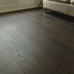 Professional V Groove Smoky Hickory laminate flooring