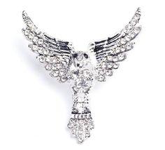 White brooch