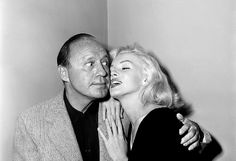 Marilyn and Jack Benny in 1953.