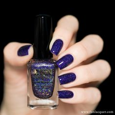 Moonlight Nocturne - F.U.N. Lacquer Summer 2015 Collection www.ScarlettAvery.com