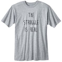 The Struggle Is Real Fangirl Shirt Fashion Band T-Shirt Fan Girl Shirt... ($15) ❤ liked on Polyvore featuring tops, t-shirts, shirts, black, women's clothing, long sleeve t shirt, grey t shirt, long sleeve shirts, black sheer shirt and loose t shirt