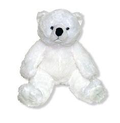 White Polar Bear Heartbeat Animal! This idea is so precious.