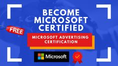 Microsoft Free Certification | Microsoft Certification | Microsoft Advertising Certification  Step by Step Procedure | Share  For more info, visit:   #Microsoft #MicrosoftCertification #ScholarshipsCorner Microsoft Advertising, Online Courses, Certificate, Free