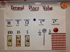 Decimal Place Value w/ money added in