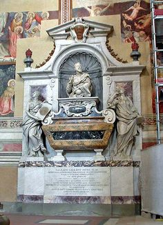 Florence. Tomb of Galileo Galilei 1564 - 1642