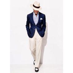 casadisartoria:  Santandrea Milano for Pierre Degand. A modern Al Capone look if…