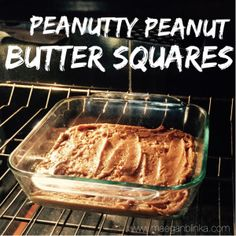 FIXATE recipe, Peanut butter bars, Clean peanut butter dessert, gluten free healthy dessert, gluten free dessert bars, Maegan blinka, Megan Blinka, New 21 day fix recipes