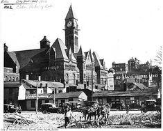 Photographer: William James 1918 City of Toronto Archives Fonds Item 1002 Toronto Street, Downtown Toronto, Toronto City, Canada Toronto, John Ward, Canadian Things, Canadian History, Slums, Old Photos