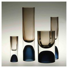 "3,479 Likes, 49 Comments - Richard Petit (@the.archers.inc) on Instagram: ""Vases (1954) Tapio Wirkkala, executed by Iittala Glassworks, Finand.  Collection of the…"""