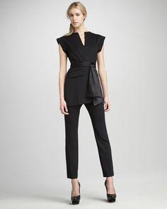 Kimono Vest & Byron Cropped Pants -