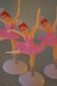 Ballerina (cake toppers)