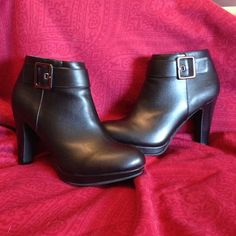 Giani Bernini Berdie boots I bought these boots to replace a favorite pair of similar style. Worn just a few times, but are still in excellent like brand new condition with no marks or scrapes. I have the box and can ship them in it. Offers welcome. Giani Bernini Shoes Ankle Boots & Booties