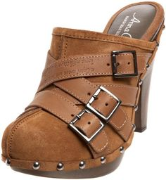 Anna Capri Women`s Roberta Mule,Tan,8.5 M US $57.50WANT THESE!