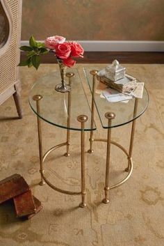 Midas Accent Table from Soft Surroundings