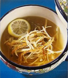Sopa de Lima is a Yucatecan favorite.  You can make it at home but its just not the same as if you are on vacation in Mexico. ;-)