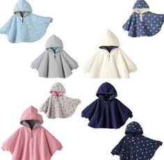 This cape is so cute! I love the cloth too. Free pdf sewing pattern - I so want to make one for a sweet little someone I know. Love! #babyfleeceprojects