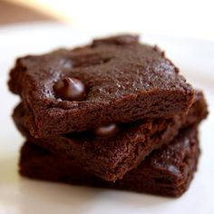 Paleo - Zucchini Double Fudge Brownies!
