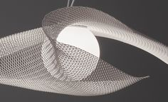 MYTILUS - Suspended lights from arturo alvarez Light Art, Lamp Light, Lamp Design, Lighting Design, Pendant Lamp, Pendant Lighting, Dubai Architecture, Suspended Lighting