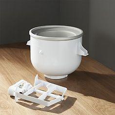 KitchenAid ® Stand Mixer Ice Cream Maker Attachment