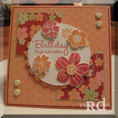 Ginger Blooms by RDiehl - Cards and Paper Crafts at Splitcoaststampers