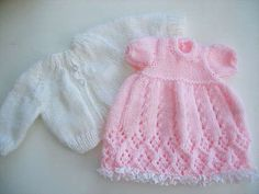 Ideas For Knitting Patterns Free Baby Girl Doll Clothes
