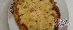 Bramborové placky se škvarkama Pizza, Cheese