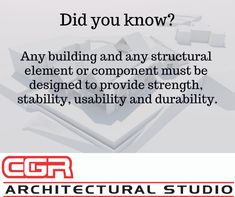 Did You Know?   #architecture #didyouknow   www.cgrarchitectural.co.za