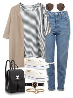 """Sin título #2110"" by alx97 ❤ liked on Polyvore featuring Topshop, Vans, Marc by Marc Jacobs, Acne Studios and MANGO"