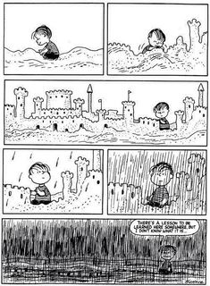 Peanuts - A lesson for Linus