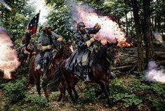 Heat at Catherine Furnace - Stonewall Jackson and Jeb Stuart