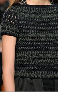 Les Copains Crochet Hooks, Knit Crochet, Crochet Style, Crochet Sweaters, Crochet Winter, Crochet World, Stitch 2, Pullover, Crochet Fashion