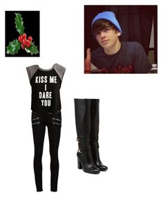 """""""Untitled #34"""" by kristal-richter on Polyvore featuring Paige Denim and Forever 21"""
