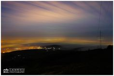 Lights of the city by night - Foggy December over the city by night. City Architecture, December, Lights, Celestial, Sunset, Outdoor, Outdoors, Sunsets, Lighting