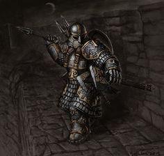 Dwarf, Zwerg, Warrior, Krieger, Larp, Armor, Rüstung, Axt, Axe, Fight, Kampf