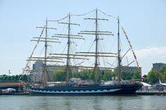 Kruzenshtern | Voilier russe Kruzenshtern lors de l'Armada 2013 à Rouen